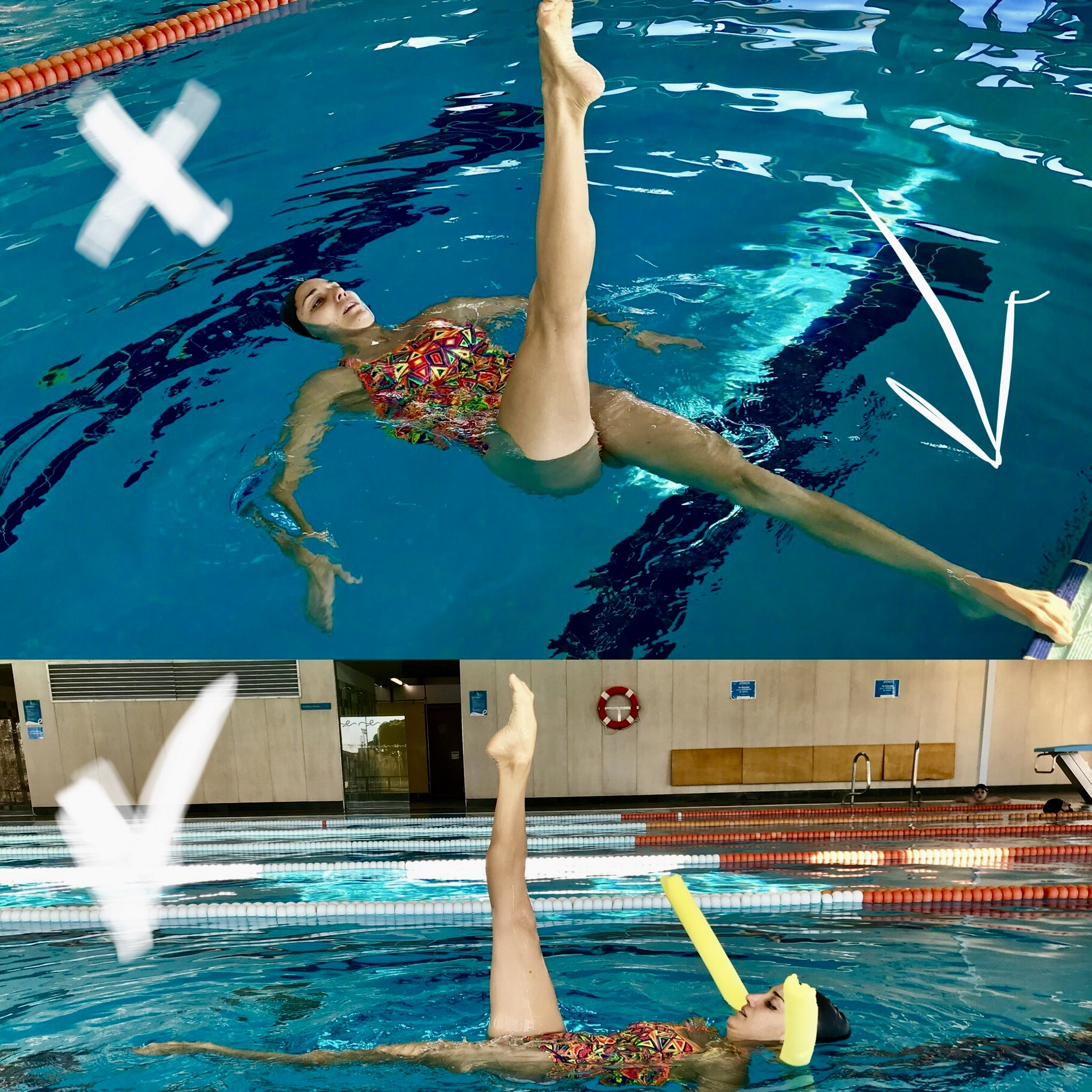 how to become a synchronized swimmer